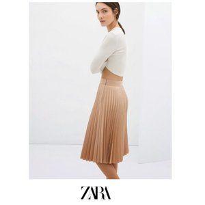 Zara | Accordion Pleated Skirt